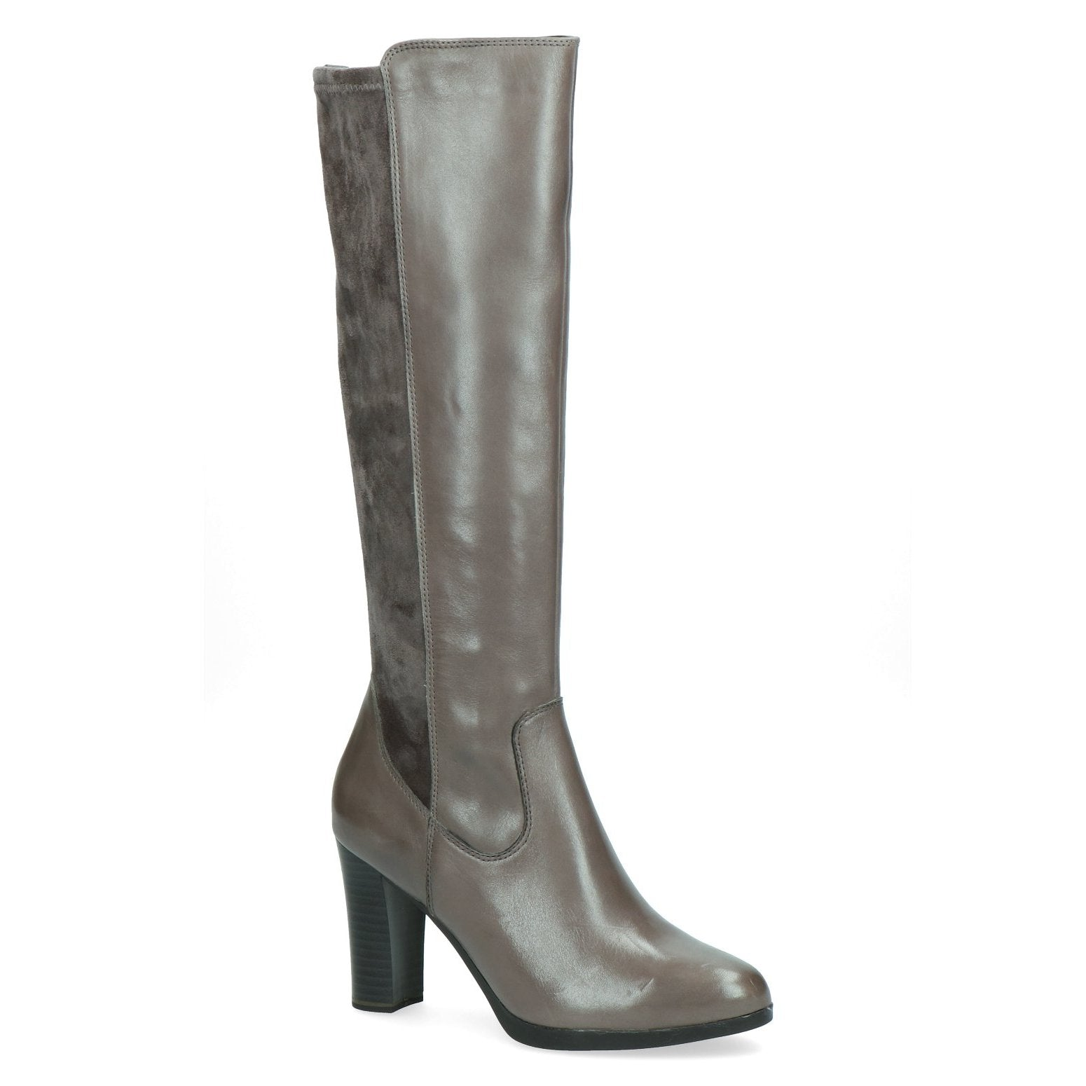 Knee High High Heel Narrow Leg Boot