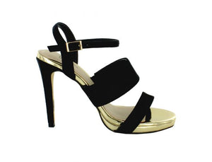 Baccano High Heel Strappy Sandal