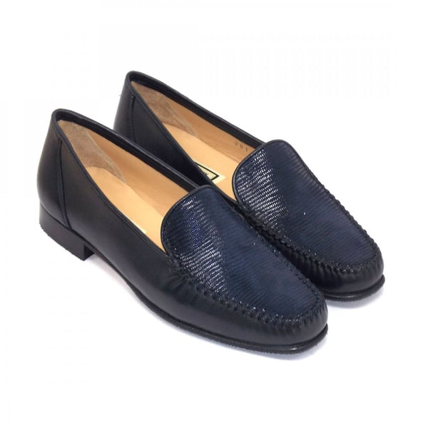 Madison Leather Low Heel Loafer