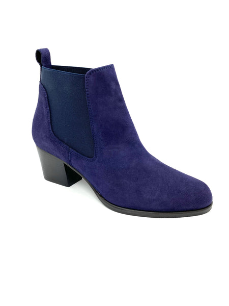 Chelsea Boot Block High Heel Ankle Boot