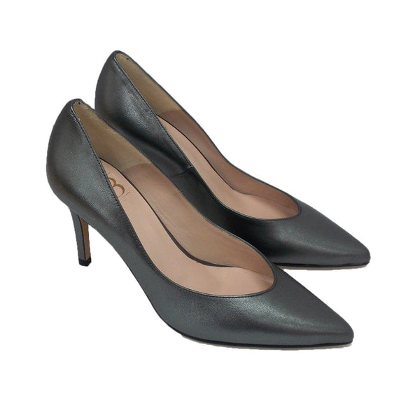 Julietta High Heel Leather Court Shoe