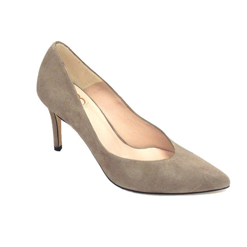 Julietta High Heel Suede Court Shoe