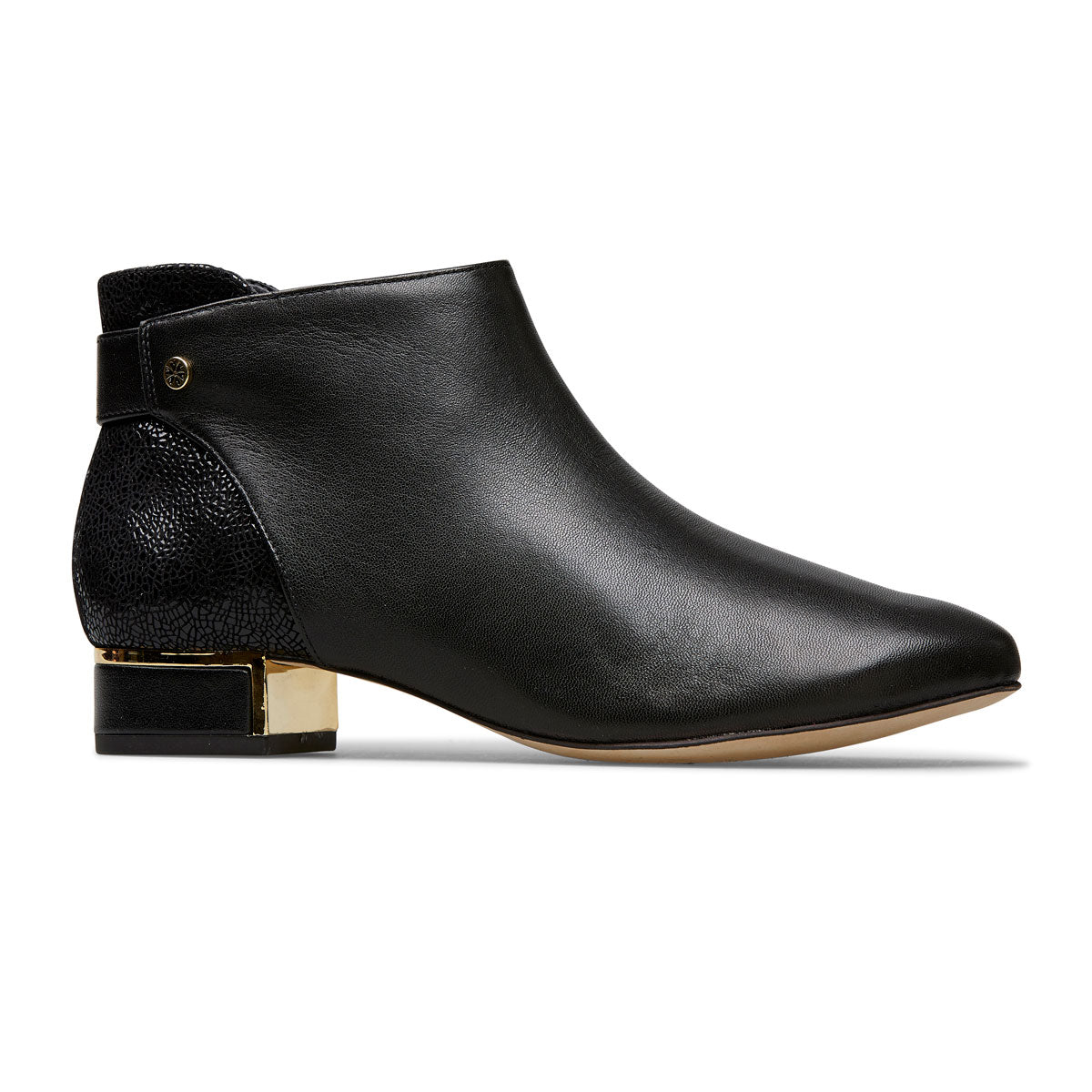 Fernshaw Suede Low Heel Boot