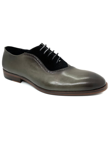 Justin Reece Dean Grey 2 Tone Lace Up