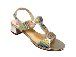 HB Shoes Italia Silver Sandal