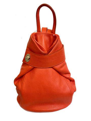 HB Shoes Leather Back Pack