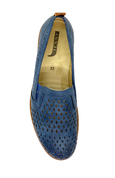 Ara Jenny Ladies Perforated Pump Navy
