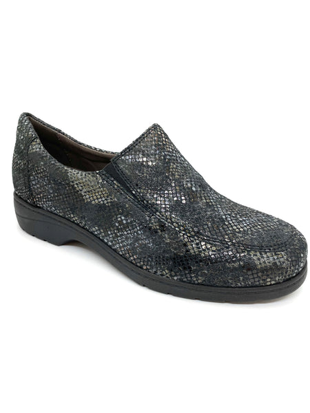 Caprice Ladies Slip On Shoe Wide Fitting