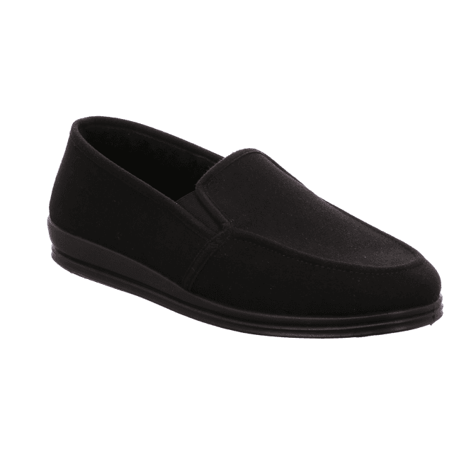 Rohde Mens Full Slipper Black