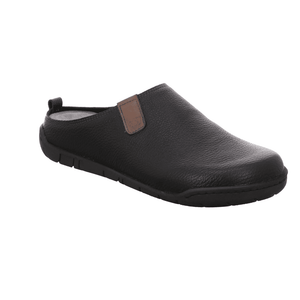 Rohde Men's Leather Backless House Shoe