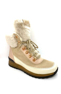 Ara Ladies Hiker Boot Warm lined Winter White