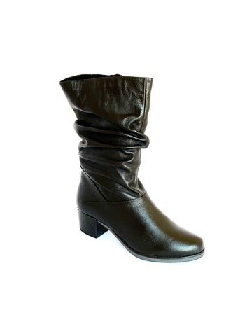 Caprice Three Quarter Leg Block Boot