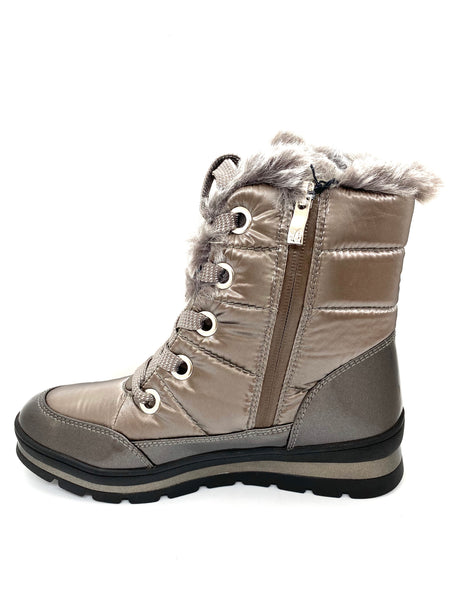 Caprice Ladies Lace Up Snow Boot
