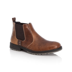 Rieker Men's Chunky Sole Chelsea Boot