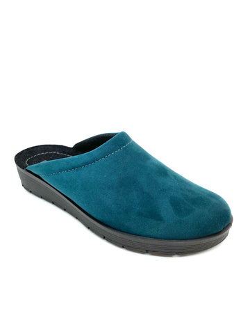Rohde Ladies Slipper Petrol