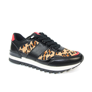 Lunar Ladies Sneaker Chaplin Black Combination