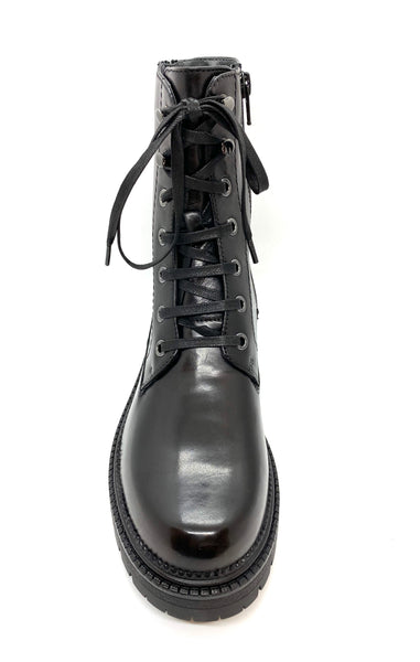 Canal Grande Partosa Lace Up Biker Boot