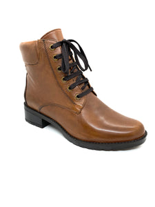 Canal Grande Bipi Padded Cuff Lace Up Ankle Boot