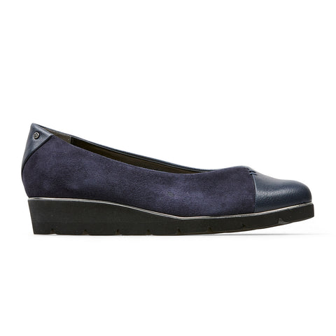 Van Dal Munro Navy Wedge