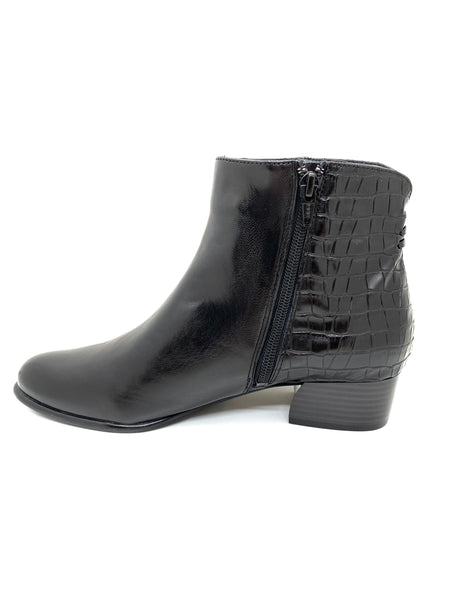 Canal Grande Betty Ladies Zip Ankle Boot