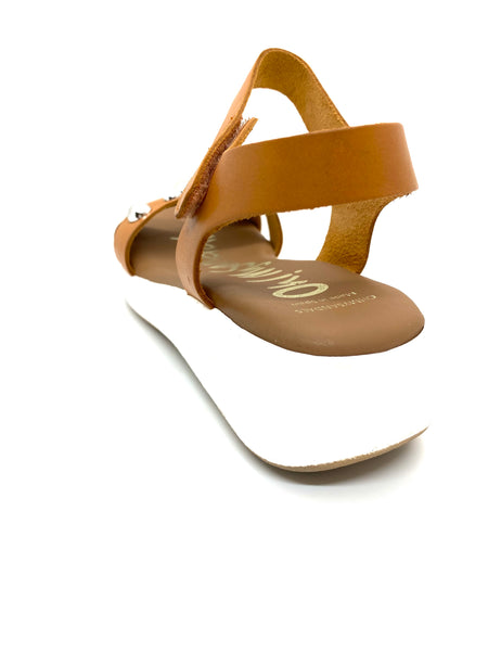 Oh! My Sandals Bobble Flat Form Sandal