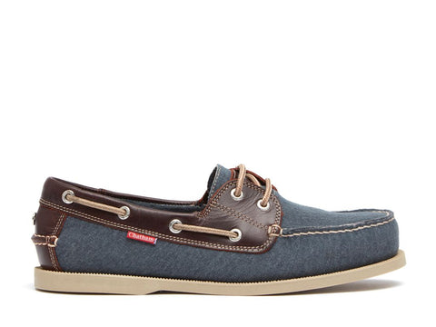 Chatham Men's Ambon Canvas Boat Shoe