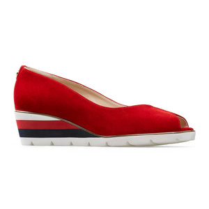 Van Dal Ladies Cobham  Wedge Heel Peep Toe Shoe