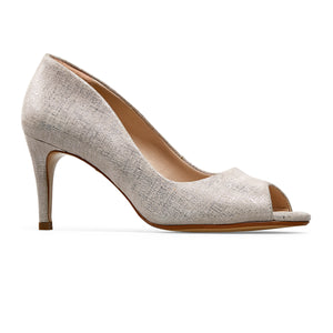 Van Dal ladies Isla Peep Toe Court Shoe