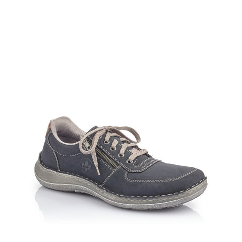 Rieker Men's Navy Lace Up Shoe