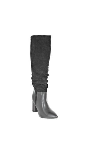 Knee High Slouch High Heel Boot