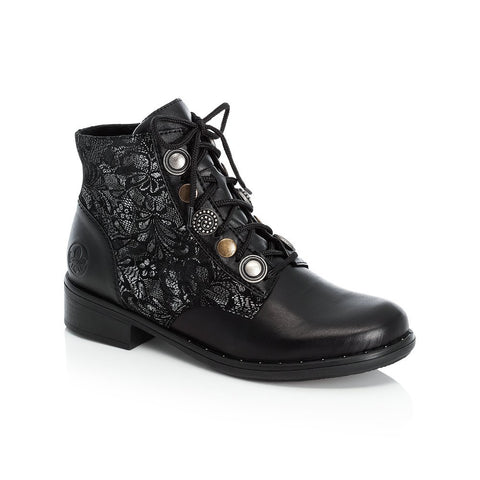 Rieker Ladies lace Up Ankle Boot
