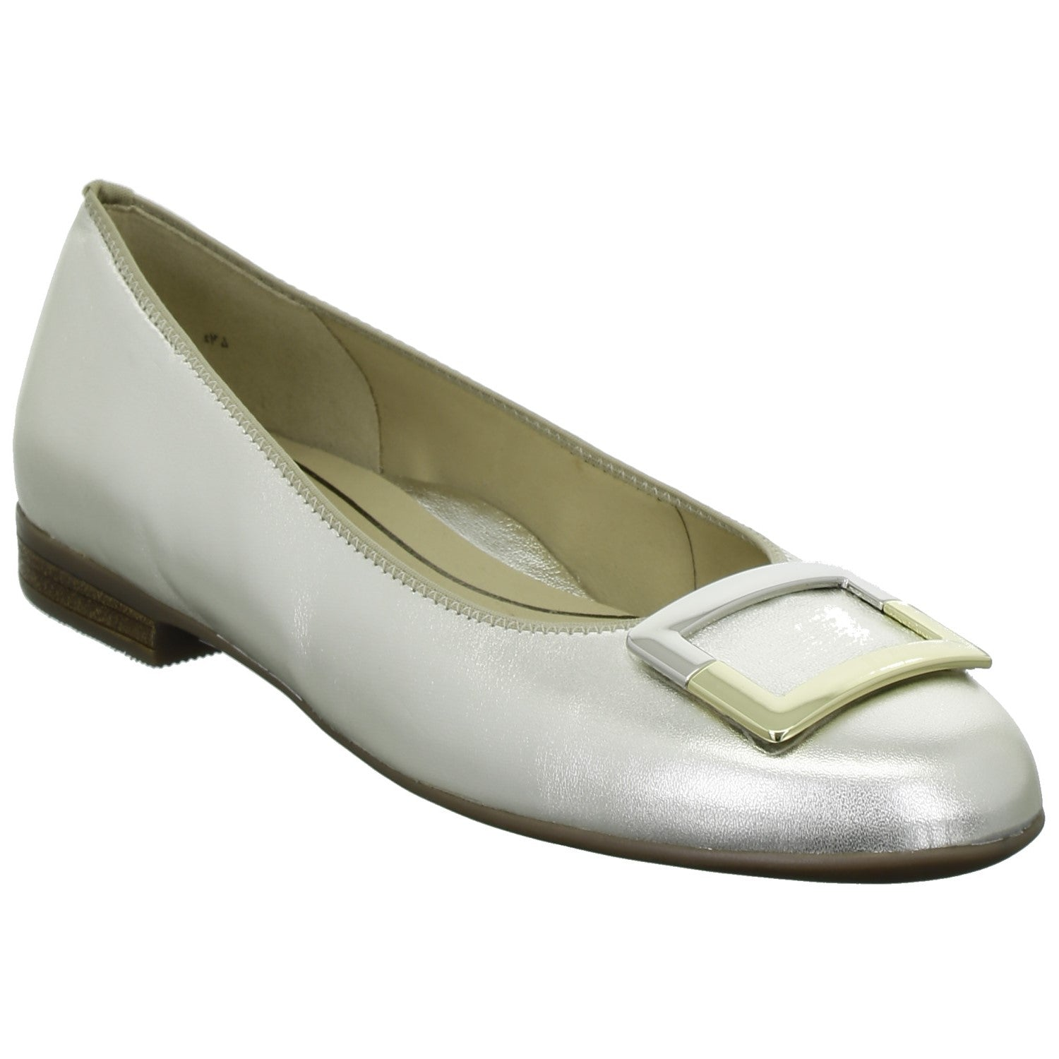 Ara Ladies Sardinia Silver Pump