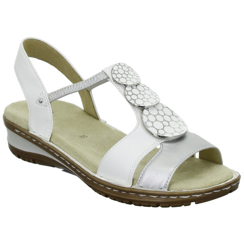 Ara Ladies Full Front Elastic sided Sandal