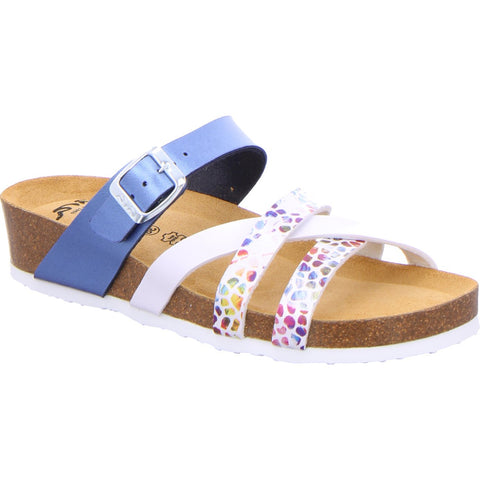 Ara Ladies Foot bed Mule Sandal