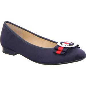 Ara ladies navy pump Shoe