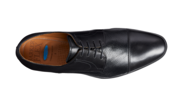 Barker Southwold Mens Lace Up Black Shoe