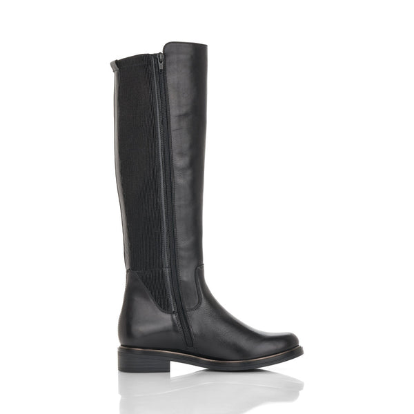 Remonte Ladies Flat Heel Long Leg Boot
