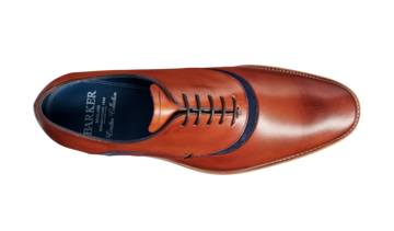 Barker Mens Emerson Rosewood Lace Up