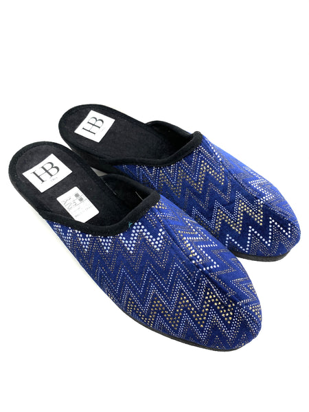 HB Habana Ladies Mule Slipper Navy