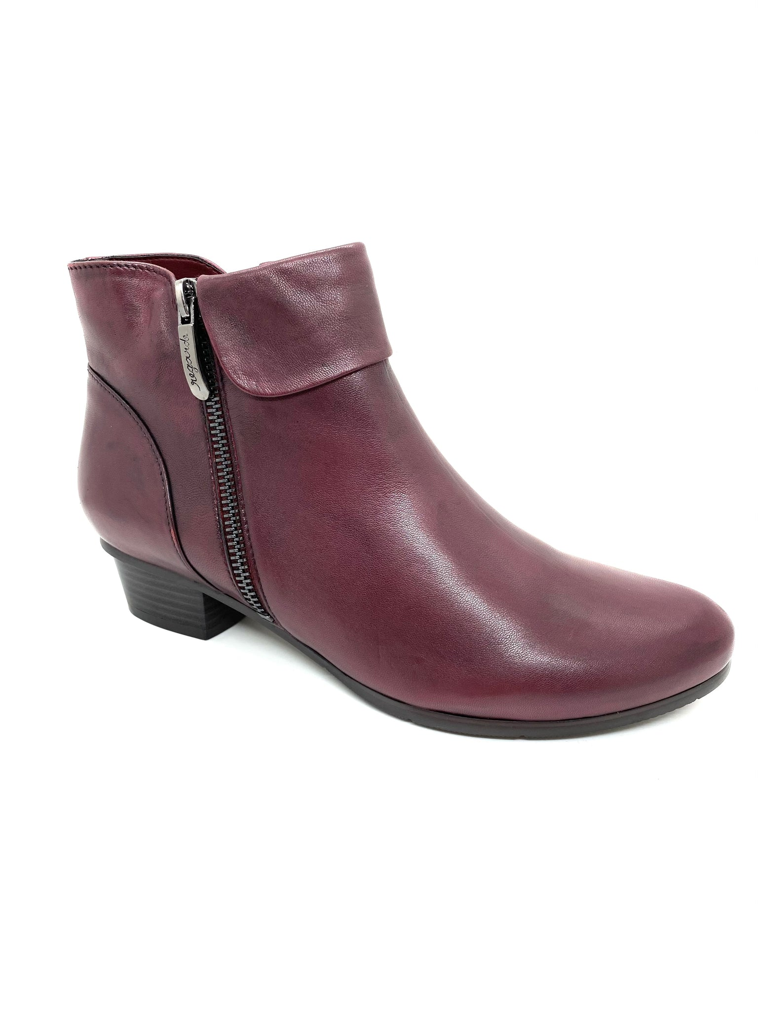 Regarde Le Ciel Stefany Ladies Ankle Boot Bordo