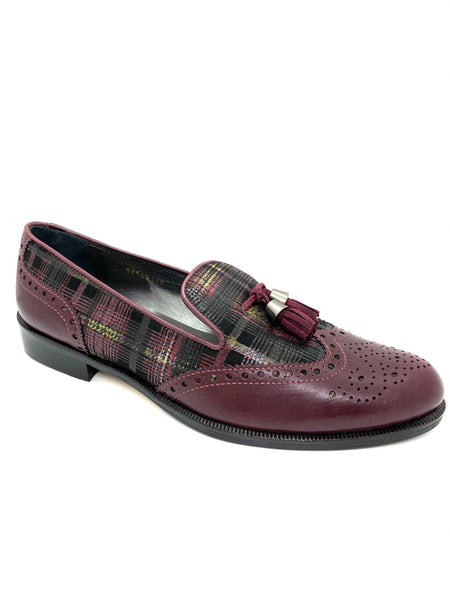 Wingtip Brogue Tassel Loafer