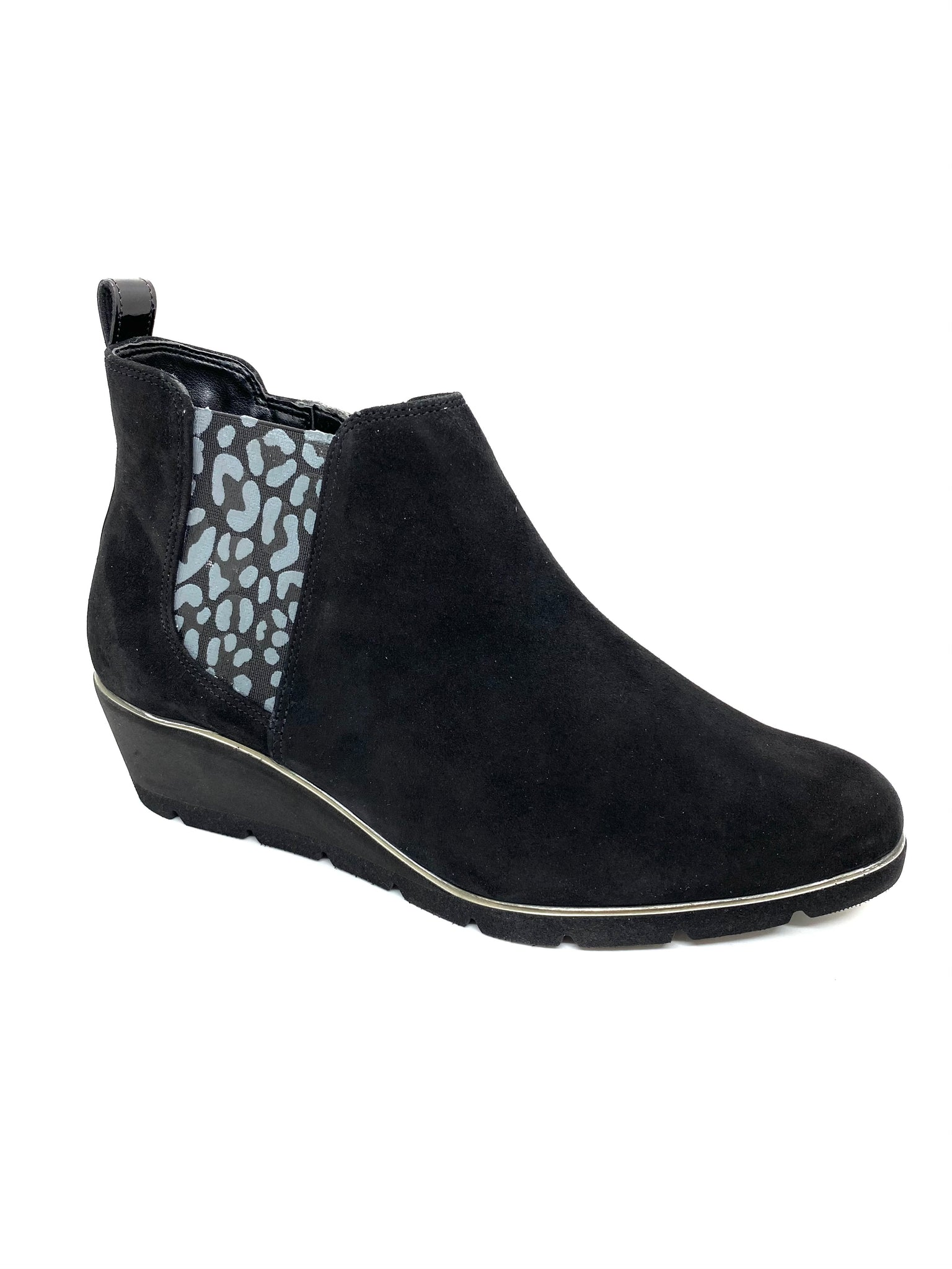 Van Dal Ladies Russet Wedge Ankle Boot Black
