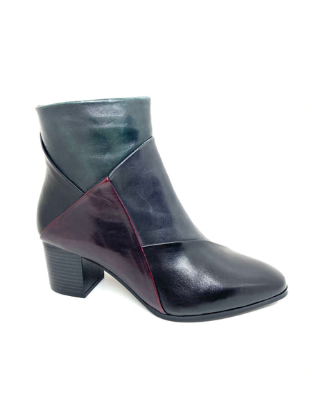 Polly Mid Heel Ankle Boot