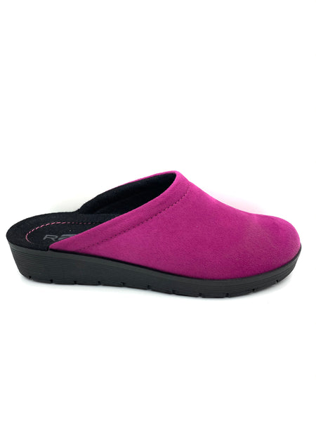 Rohde Ladies Pink Backless Slipper