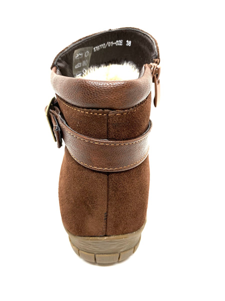 Betsy 978760 01 02 Brown Ankle Boot