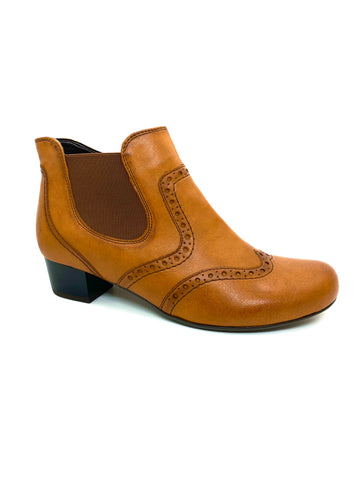 New Ara Ladies Low Heel Brogue Boot