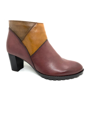 Ara Ladies Jenny San Tivo Bordo Ankle Boot