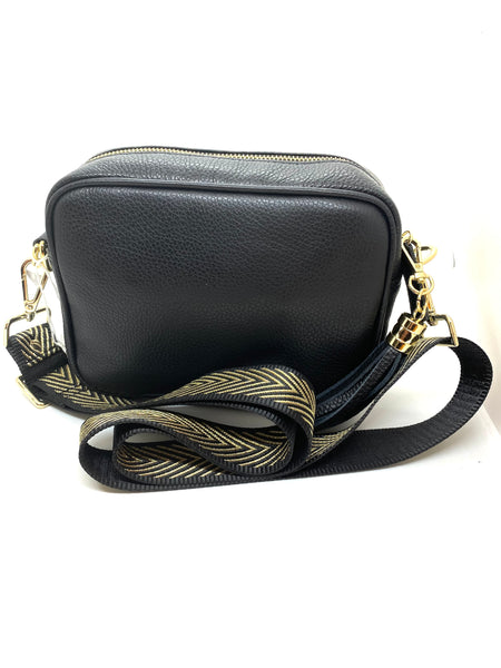 Elie Beaumont Leather Cross Body Bag