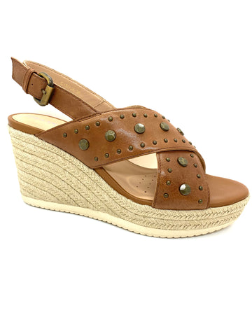 Geox Ladies Ponza Wedge Sling Back Sandal