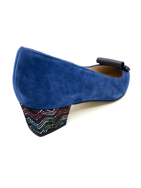 HB Shoes Firence Navy Suede